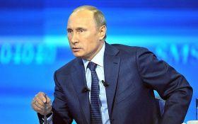 За тиждень рейтинг Путіна впав до рівня 2013 року