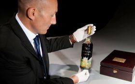 Новый мировой рекорд: на аукционе Christie's ушла с молотка самая дорогая бутылка виски
