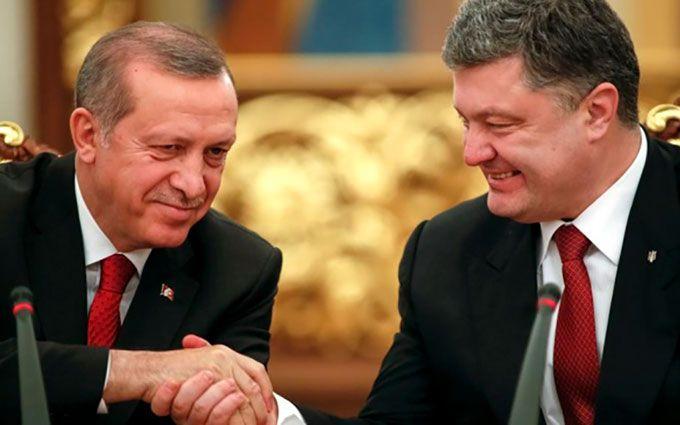 Ердоган поговорив із Порошенком про свою дружбу з Путіним: соцмережі веселяться