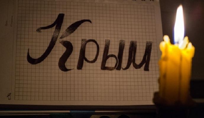 Мешканці окупованого Севастополя запасаються свічками з ЄС