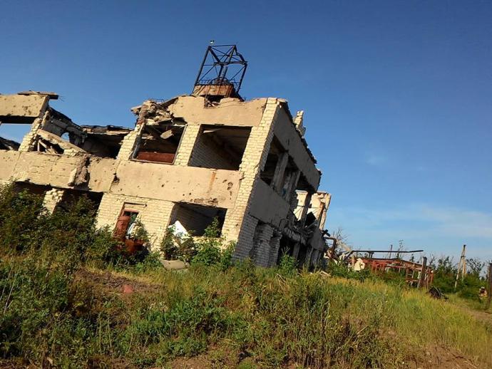 Війна на Донбасі: з'явилися вражаючі фото з фронту (1)