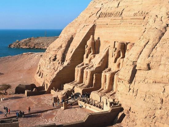 Абу-Симбел, Храм Рамзеса II, XIX династия