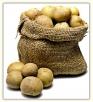 Картофель вземляном кувшине