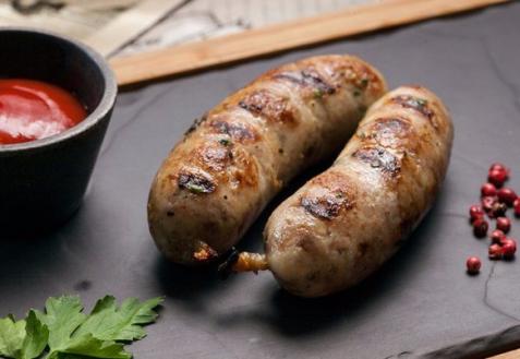 Колбаски из курицы и индейки