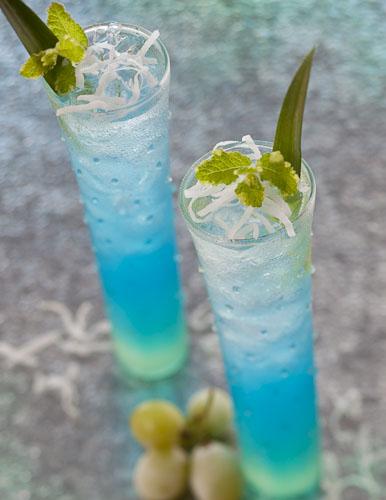 Рецепт - Голубой мохито