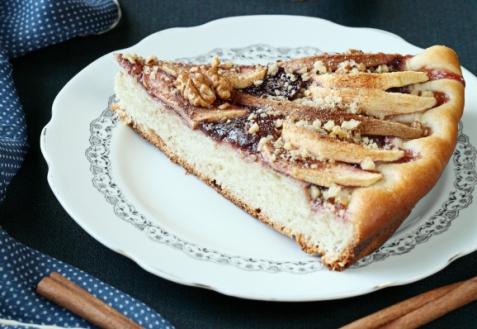 Рецепт - Постный яблочно-грушевый пирог