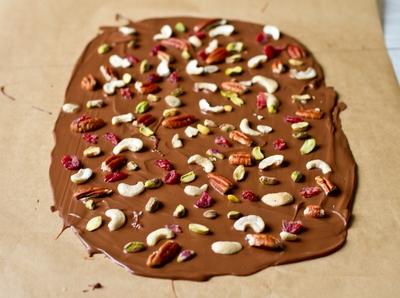 Шоколад + орехи