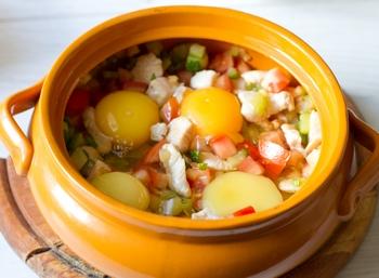 + яйца