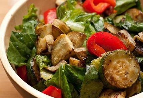 Рецепт - Салат из кабачков с кедровыми орешками