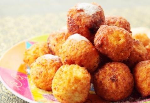 Тыквенные шарики с сыром