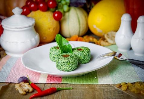 Грузинское постное блюдо: пхали
