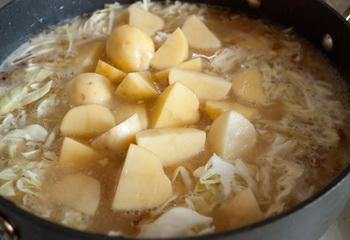 + капуста и картофель