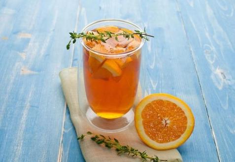 Холодный апельсиновый чай