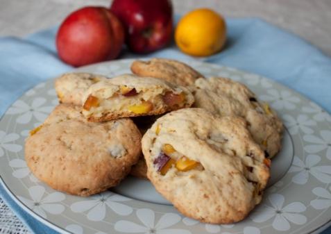 Печенье с нектаринами