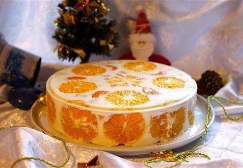 Торт желейный с фото