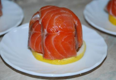 Рецепт - Закуска из красной рыбы