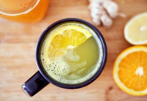 Имбирно-апельсиновый напиток
