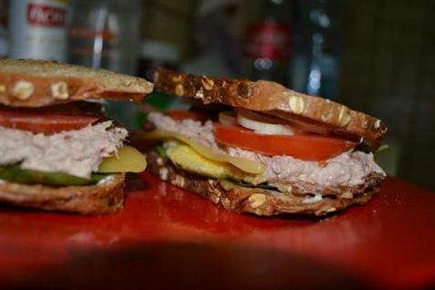 Рецепт - Вкуснейшие сэндвичи за 10 минут