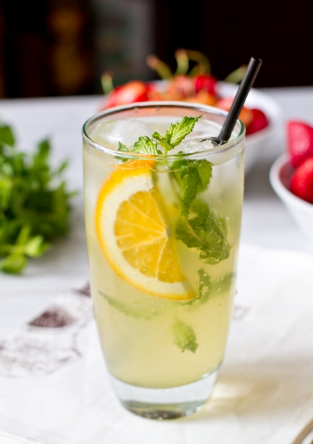 Мятный лимонад