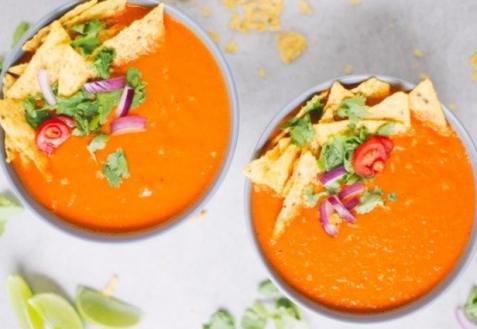 Мексиканский томатный суп