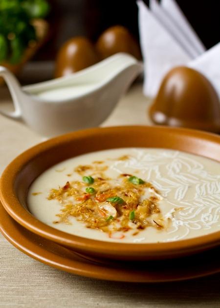 Суп-пюре из кислой капусты