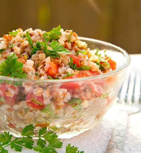 Рецепт - Гречневый салат