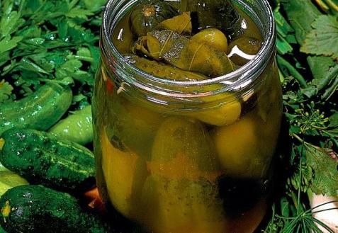 Рецепт - Лимонные маринованные огурцы