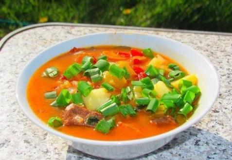 Бограч — венгерский суп (видео)