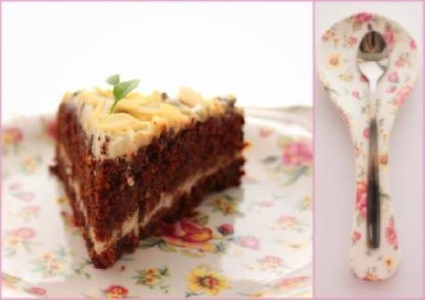 Рецепт - Морковно-шоколадный торт с кремом
