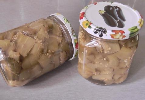 Баклажаны как грибы (видео)