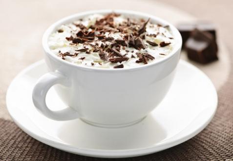 Горячий белый шоколад (видео)