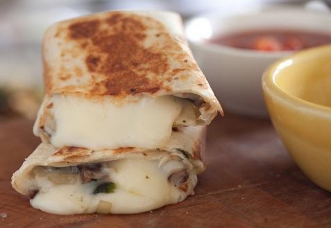 Рецепт - Рулет из лаваша с грибами и сыром