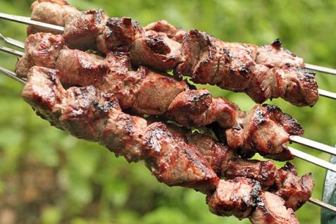 Рецепт - Шашлык из баранины