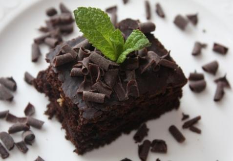 Шоколадный пирог без яиц