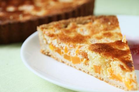 Рецепт - Тыквенно-творожный пирог
