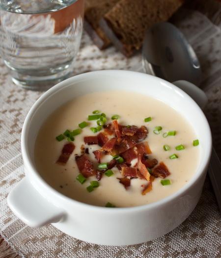Сырный суп-пюре на пиве