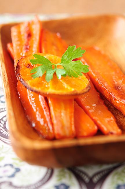 Рецепт - Морковь, запеченная c цитрусовыми