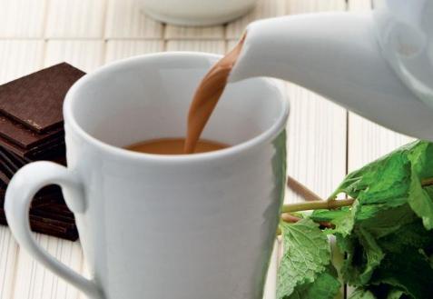 Шоколадно-мятный чай