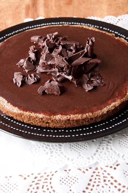 Рецепт - Шоколадный маковый пирог