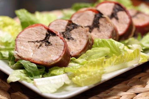 Рецепт - Фаршированная свинина