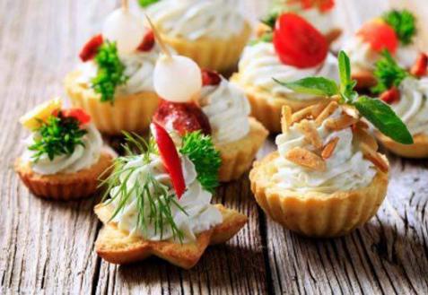 Рецепт - Острая сырная закуска