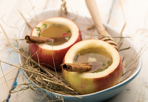 Горячий яблочный напиток (видео)