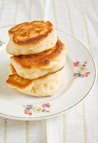 рецепт медовых оладков