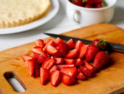 Режем ягоды