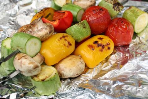 Рецепт - Овощи на гриле