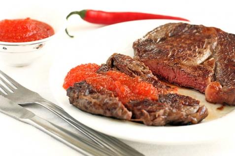 Рецепт - Соус-варенье из острого перца к мясу