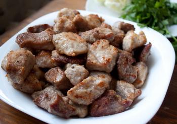 Обжаренное мясо