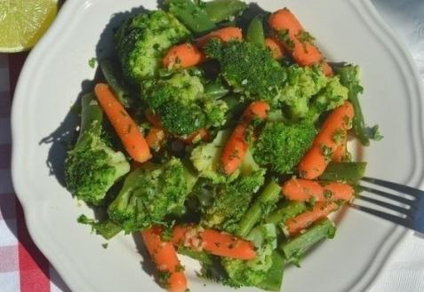 Постные блюда: Гарнир из брокколи