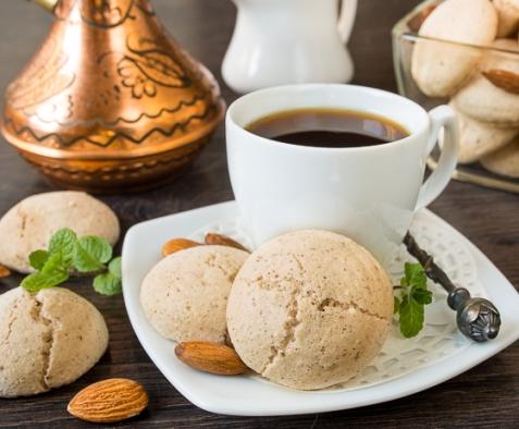 Амаретти - итальянское минадльное печенье