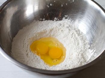 Мука + яйца